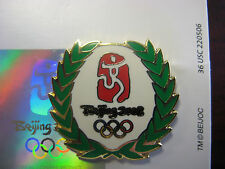 Beijing 2008 Olympic Pin - Olympic Wreath