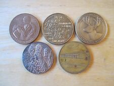 Medal Lot: (5) Medals, NRA, U.S. Mint, American Red Cross, 1984 LA Olympics