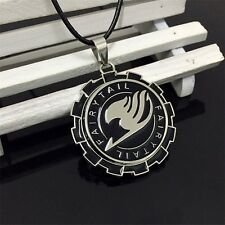 "Anime Fairy Tail Guild 2"" Metal Pendant Necklace Chain Loose Pack Cosplay"