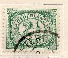 Países Bajos 1898-99 rápida de los problemas Fine Used 2.5 C. 119381