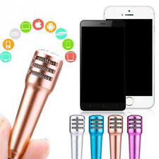 Mini Karaoke Microphone With Earphone For IOS Android Mobile IPhone Tablet TB