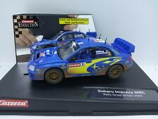 Carrera Subaru Impreza WRC Rally Great Britain. Makinen/Lindstrom 2003. 1/32
