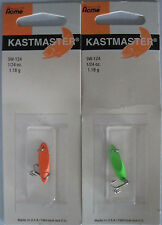 2 - ACME KASTMASTER Fishing Lures - 1/24 oz. - Two Popular Colors!