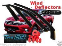 TOYOTA Hilux  VIII gene  4d 2016 - Wind deflectors 4.pc  HEKO  29643