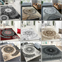 Oriental Rugs Modern Mandala Design Carpet Small X Large Living Room Hallway Mat