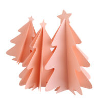 Mini Christmas Tree Paper String DIY Christmas Tree Ornaments Hanging Decor S