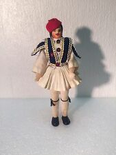 "Vintage Souvenir Costume Doll 7"" In National Costume Collectible Item"