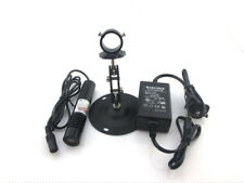 100mW Laser Line Module Head Focusable 650nm+ Power Adapter+Mounting Bracket