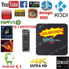 4K MXQ PRO Android 5.1 TV BOX Quad Core WIFI HDMI Media Player KODI Latest 16.1