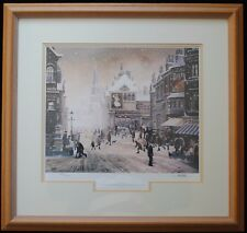 FAB BRIAN SHIELDS BRAAQ SIGNED LIMITED EDITION ~ WINTER, ITS CHRISTMAS TOMORROW