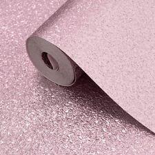Carta da parati con texture metallica Shimmer-Rosa Tenue-Muriva 701378 NUOVO