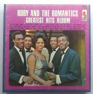 Ruby and the Romantics - Greatest Hits Album - KAPP KTC 3458 4 track 7 1/2