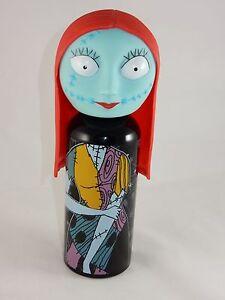 Disney Nightmare Before Christmas SALLY Aluminum Water Bottle W/ Vinyl Head NEW