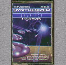 SYNTHESIZER GREATEST SPACE MUSIC  MUSICASSETTA  NUOVA (VANGELIS - JARRE)