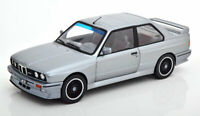 BMW M3 E30 COUPE SILVER 2 DR 1:18 SCALE GREAT MODEL CLASSIC DIECAST BRAND NEW
