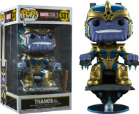 FUNKO POP! - MARVEL - THE FIRST 10 YEARS - THANOS ON THRONE - 8 INCH - DELUXE