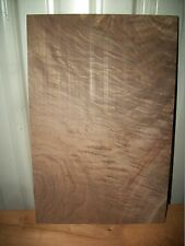 "1 PC HIGHLY FIGURED WALNUT LUMBER WOOD KILN DRIED BOARD 7/8"" LOT 4B FLAT"
