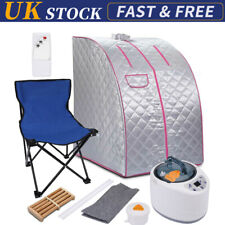 More details for portable steam sauna tent spa slimming loss weight full body detox therapy set