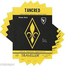Traveller Tancred, Planetary Source Book & Scenarios Bonus Pack X5 G