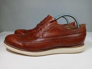 Cole Haan Original Grand Os Wingtip Oxford Brown Mens Size 13 EXCELLENT