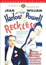 RECKLESS (1935 Jean Harlow) -  Region Free DVD - Sealed