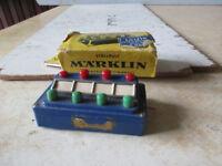 Marklin boitier de commande bleue