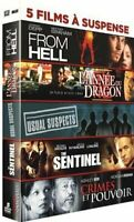 5 DVD Suspense From Hell + L'année du Dragon + Usual Suspects The Sentinel  Neuf