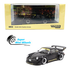 Tarmac Works 1:43 RWB Porsche 930 Stella Artois (Black/Gold)