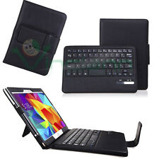 Custodia pelle tastiera bluetooth nera per Samsung Galaxy Tab S 10.5 T805