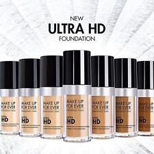Make Up For Ever MUFE Ultra HD Invisible Cover Liquid Foundation 1oz YOU CHOOSE