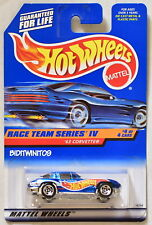 HOT WHEELS 1998 RACE TEAM SERIES IV '63 CORVETTE #4/4 BLUE