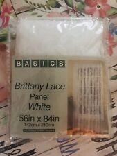 Vtg- Basics Brittany Lace Panel- White 56� x 84�