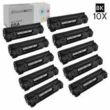 10 Pack CE285A 85A Black Printer Toner Cartridge for HP LaserJet Pro P1102W