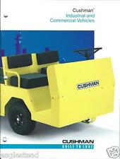 Equipment Brochure - Cushman - Eagle Haulster Police et al Vehicle (E2528)