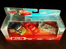 DISNEY PIXAR CARS RACE DAMAGED KING DEXTER HOOVER MCQUEEN 3 PACK NS SAVE 6% GMC