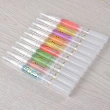 10Pcs/set Harunouta 8ml Nail Art Cuticle Oil Pen Various Flavor Manicure Tips