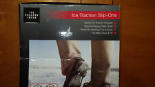 Ice Traction Slip Ons Mens size 8-12 New in Box from Sharper Image
