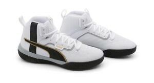 Puma Legacy '68 Men's Basketball Shoes Mid High Top 193512-01 Size us 10. NEW