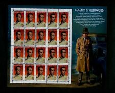 TWENTY sheets of 20 - Humphrey Bogart Hollywood Legends - Scott# 3152 - ALL MNH