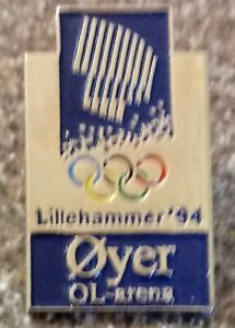 1994 Oyer Lillehammer Olympic Pin