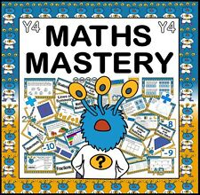 CD MATHS MASTERY TEACHING RESOURCES FOR YEAR 4 KS2 NUMERACY CAPTAIN CONJECTURE