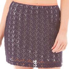 Superdry - Womens, Havana Skirt Dark Navy. Size 12. NEW.