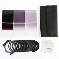 18 IN1 Full ND2 4 8 Graduated Square Filter +Adapter Holder Set  for Cokin P
