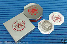 1998 Singapore 2 oz Lunar Year of the Tiger $10 Silver Piedfort Proof Coin