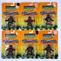 """TMNT MINI 2.25"""" FIGHTIN' GEAR Action Figure Teenage Mutant Ninja Turtles 2004 EA"""