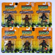 "TMNT MINI 2.25"" FIGHTIN' GEAR Action Figure Teenage Mutant Ninja Turtles 2004 EA"