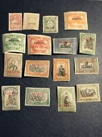 Lot of 16 Stamps. Azores 2918- 1927. Correios Portugal.Mint 15 Pcs Hinged,1used