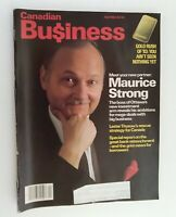 Canadian Business Magazine April 1983 Gold rush of 83 New Partner Maurice Strong