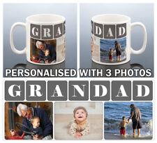 GRANDAD PHOTO Mug GRANDPA Photos Cup Birthday Gift for Grandad Gramps Grampy Mug