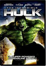 NEW DVD - THE INCREDIBLE HULK  - Edward Norton, Liv Tyler, William Hurt, Tim Ro